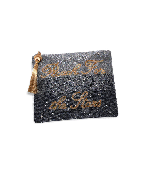 Reach for the <br>Stars Beaded Clutch