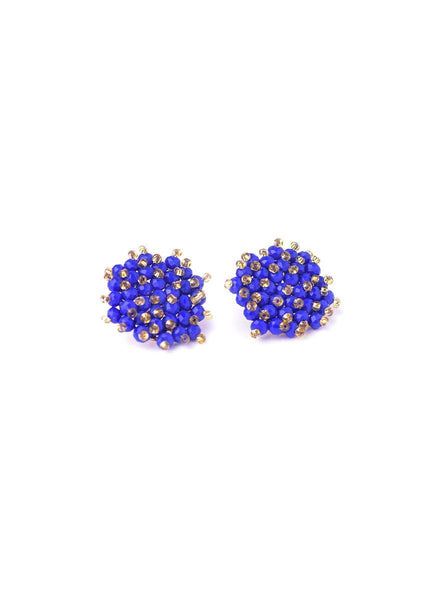 Beaded <br> Stud Earrings