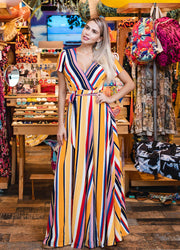 Stripes <br>Maxi Dress