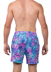 Colorful Palms <br>Swim trunk