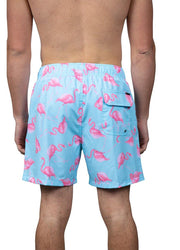 Flamingo Mint<br>Swim trunk