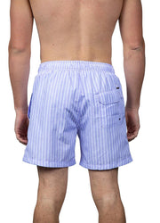 Purple Striped <br>Swim trunk