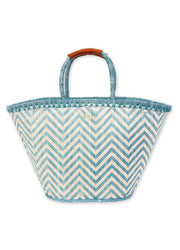 Turquoise <br>Shoulder Tote