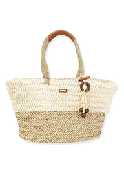 Natural Straw <br>Shoulder Bag