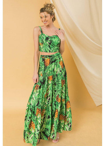 Tropical <br>Skirt Set