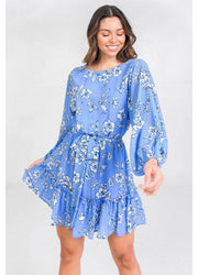 Blue <br>Mini Dress