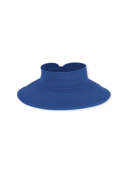 Royal Blue <br>Ribbon Visor