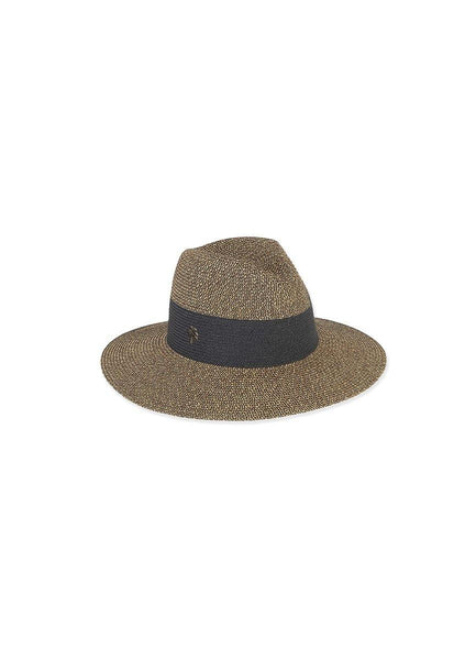Black Safari <br>Paper Braid Hat