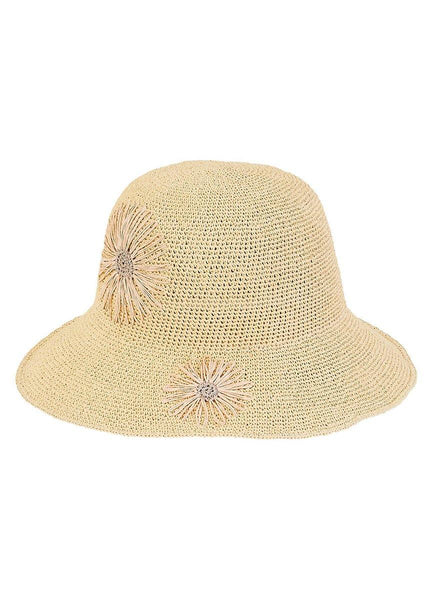 Premium Natural <br>Paper Crochet Hat