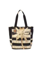 Gold Palm <br>Shoulder Tote