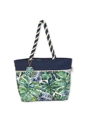 Monstera <br>Shoulder Tote