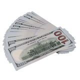 25x $100 Full Print Prop Money New Series Bills