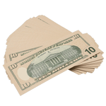 100x $10 Full Print Prop Money New Series Stack