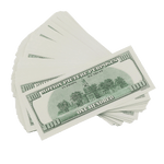 25x $100 Full Print Prop Money 2000 Series Bills
