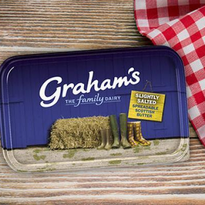 Graham's Spreadable Butter 500g