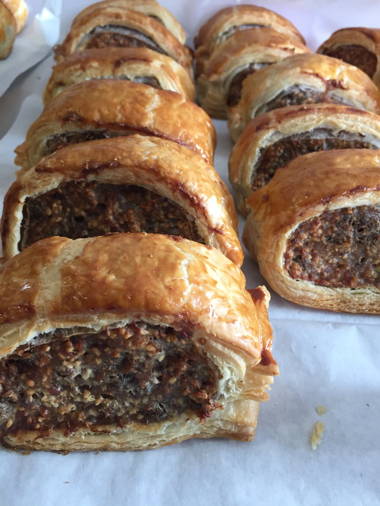 Pork, Apple, Pear & Stornoway Black Pudding Sausage Roll