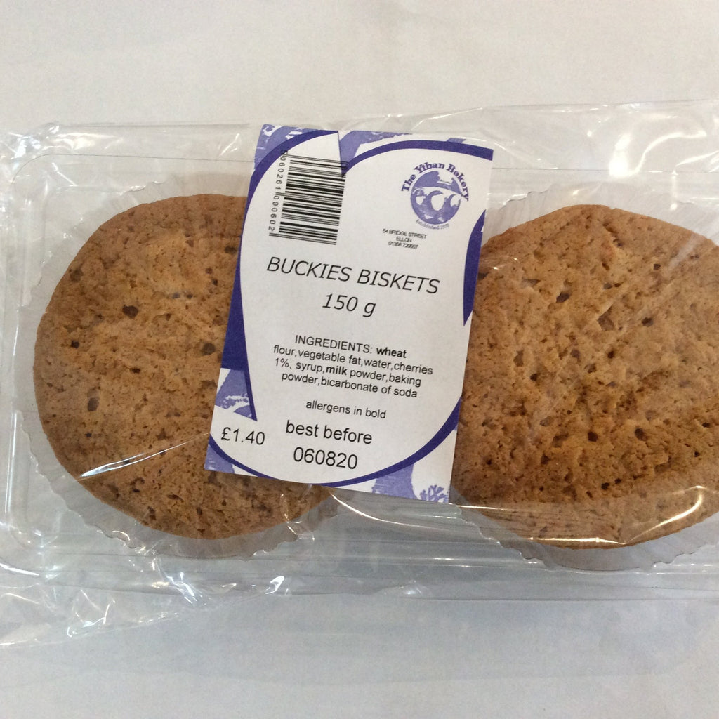 Ythan Bakery Buckies Biscuits