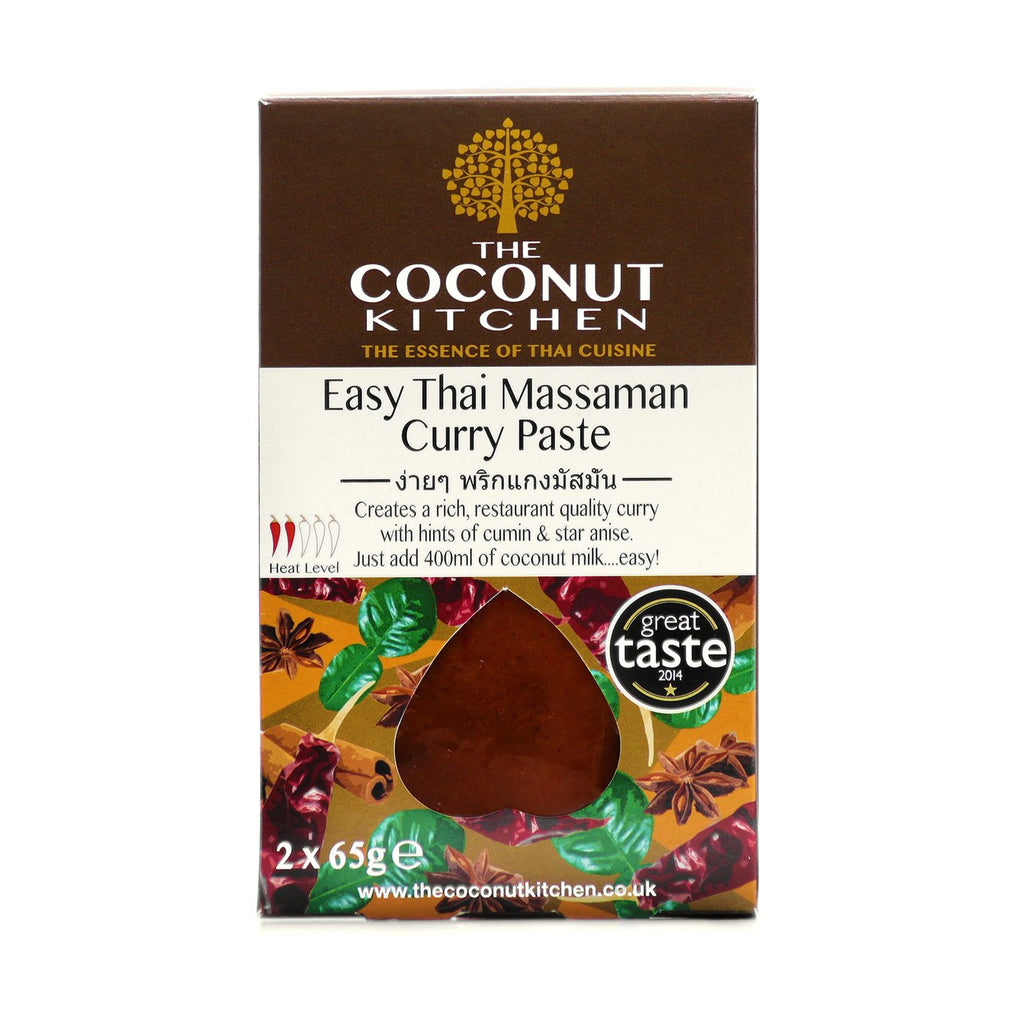 The Coconut Kitchen Easy Massaman Curry Paste