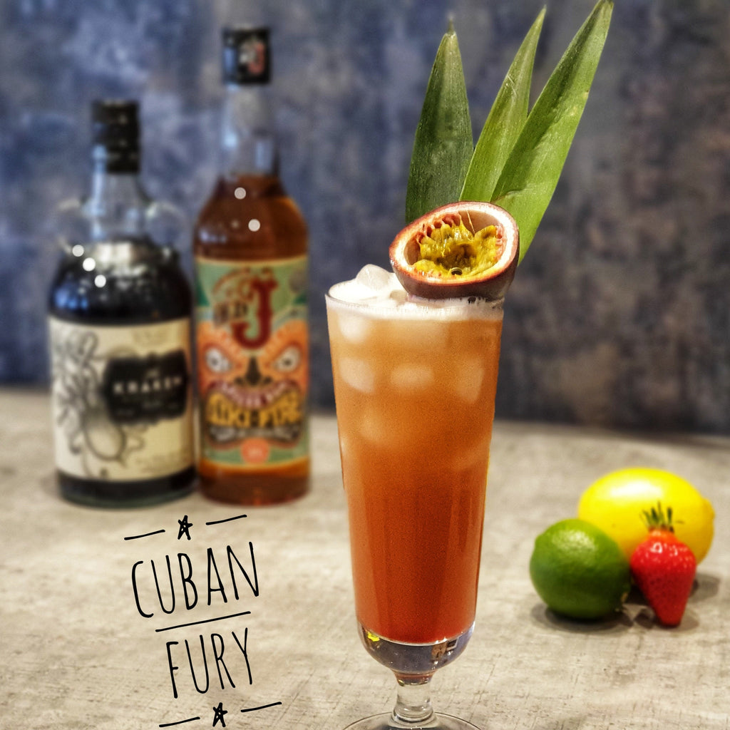 MiXd Cuban Fury Cocktail