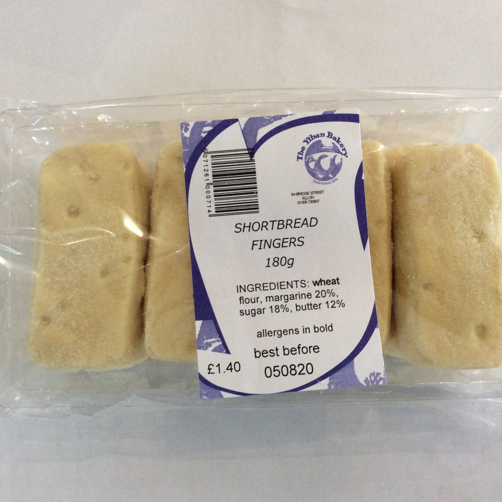 Ythan Bakery Shortbread Fingers
