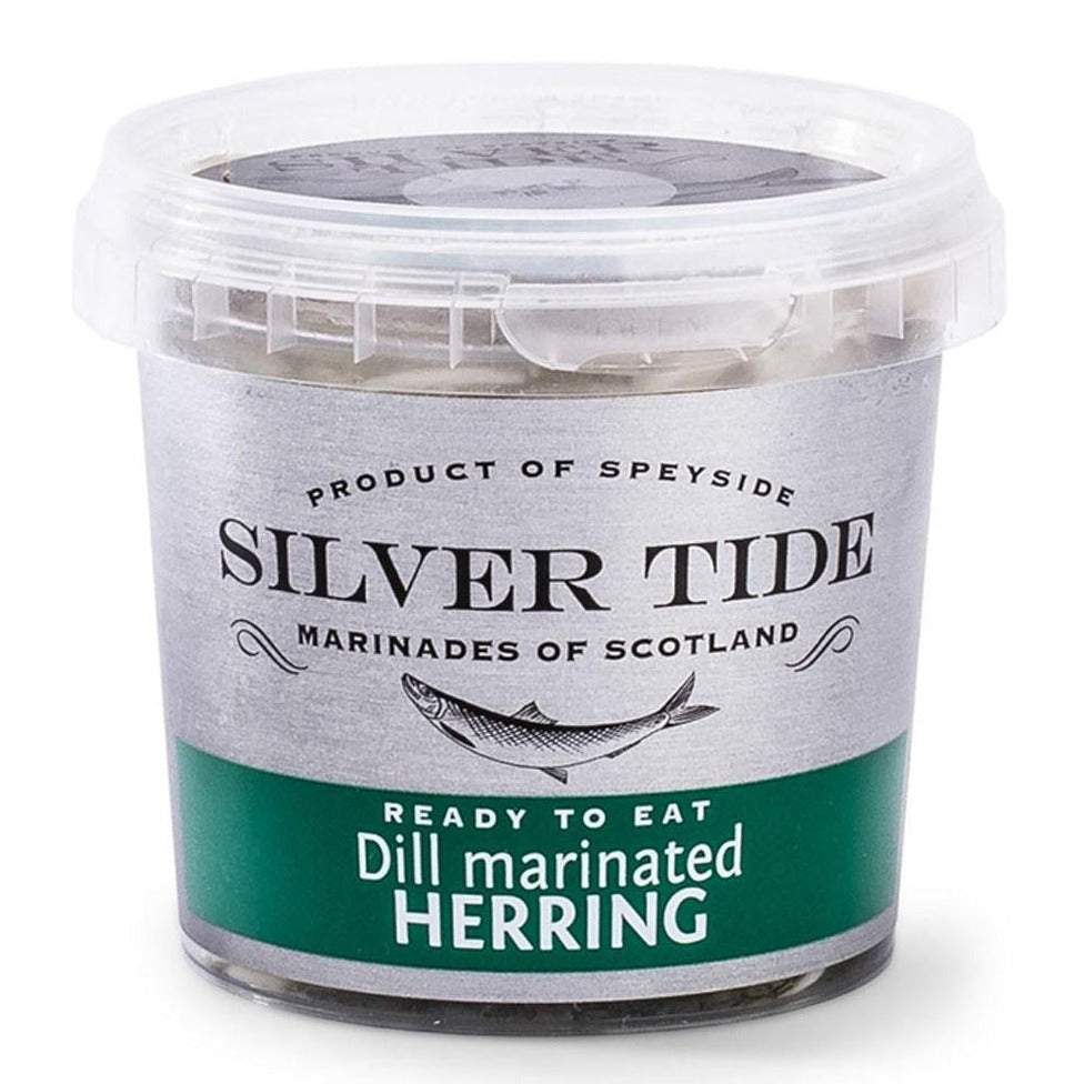 Marinated Herrings - Dill Cure
