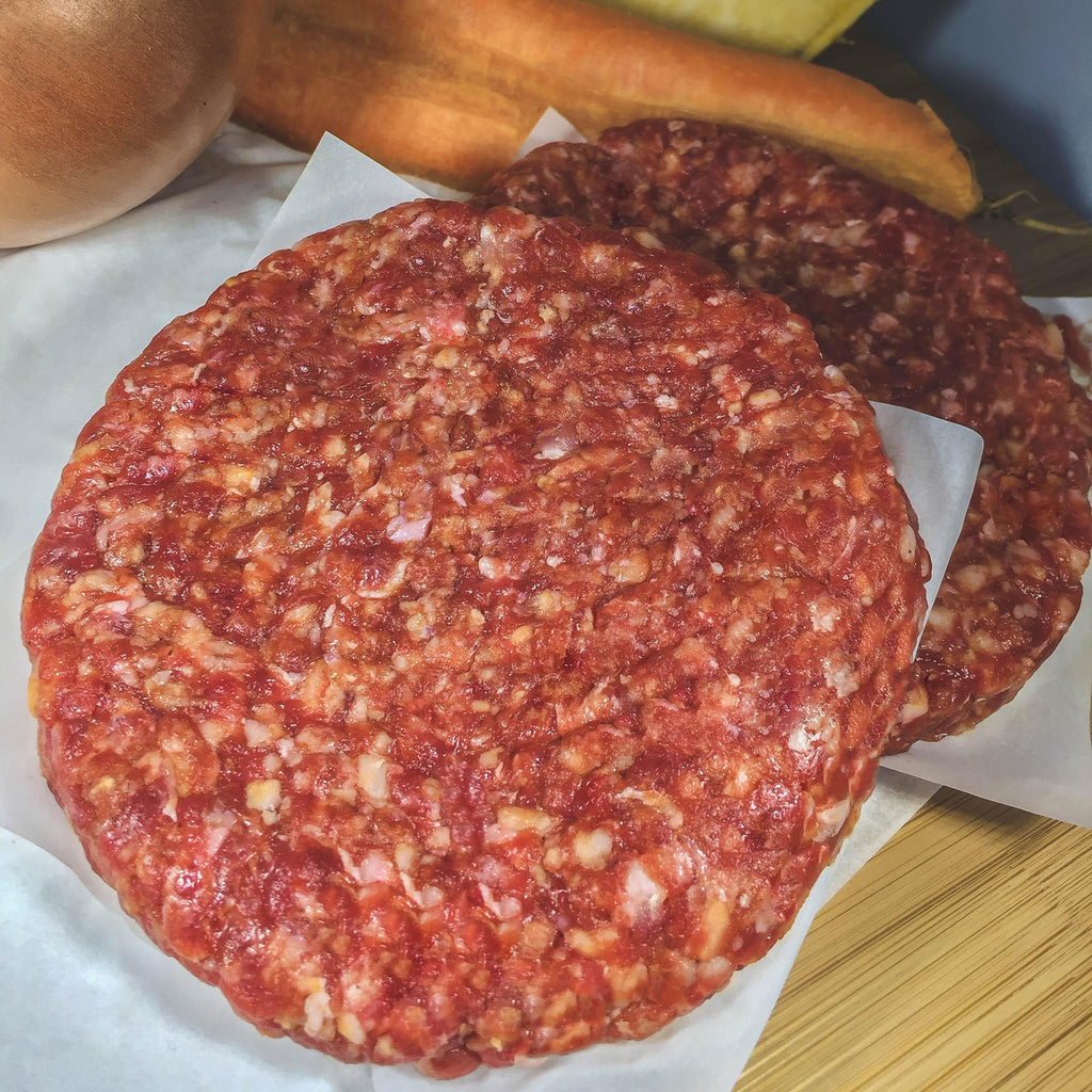 Smoky Maple & Chili Scottish Wild Venison Burger 6oz/170g