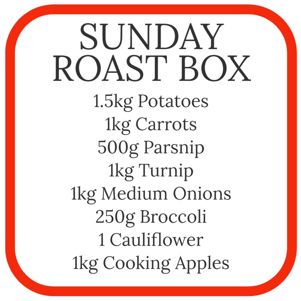 Sunday Roast Vegetable Box