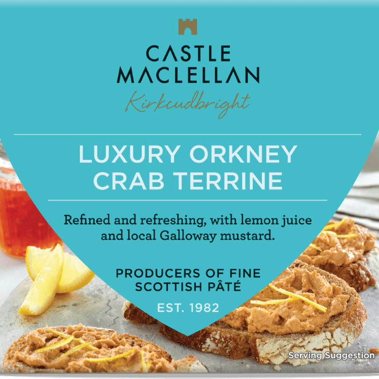 Luxury Orkney Crab Terrine Pate