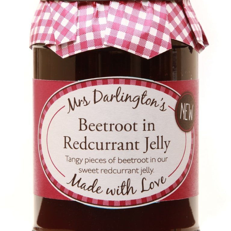 Mrs Darlington's Beetroot in Redcurrant Jelly