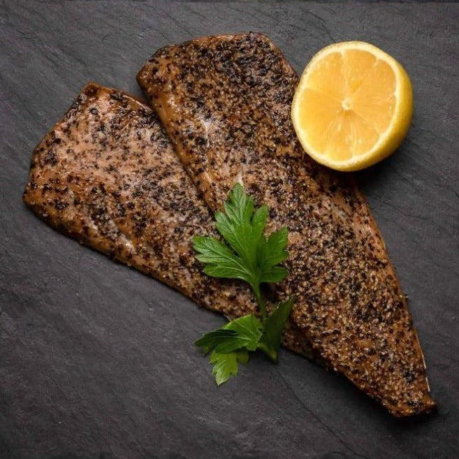 Amity Peppered Hot Smoked Mackerel