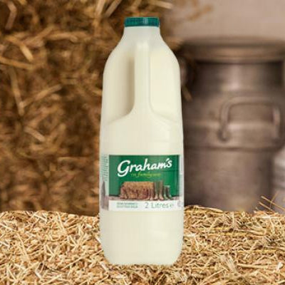 Graham's Semi-Skim Milk 2 Litre