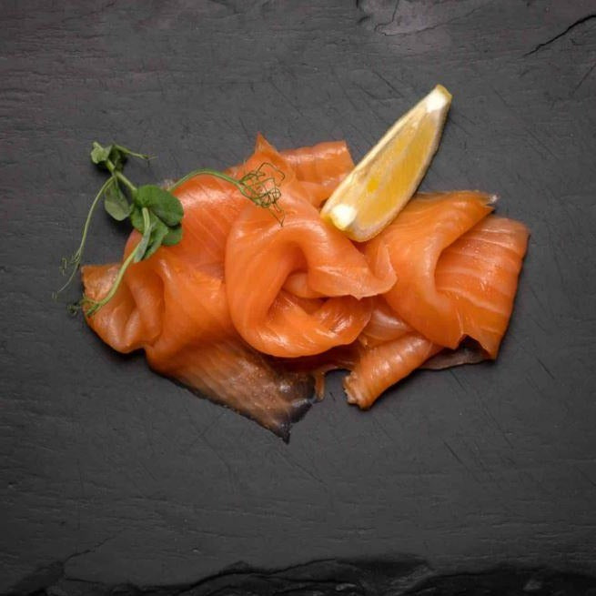 Amity Hand Sliced Smoked Salmon