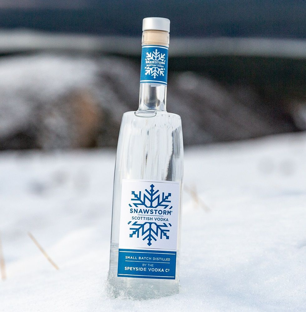 Snawstorm Scottish Vodka 70cl