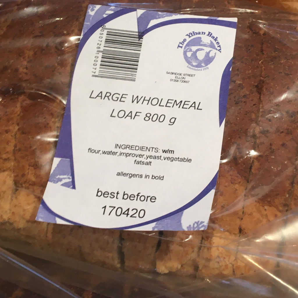 Wholemeal Ythan Bakery Bread