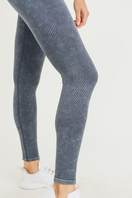 Mineral Washed Leggings