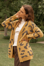 Load image into Gallery viewer, Leopard Open Cardigan