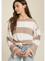 Load image into Gallery viewer, Millie Striped Spring Sweater