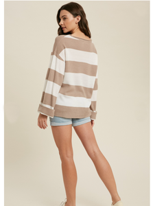 Millie Striped Spring Sweater