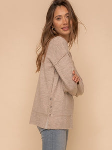 Trio Snap Sweater