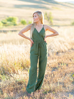 Load image into Gallery viewer, Olive You Jumpsuit