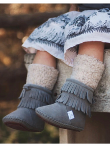 Cozy Fringe Boot