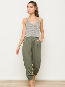 Work from Home Joggers (Olive)