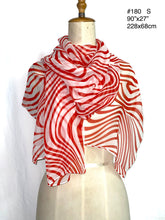 Load image into Gallery viewer, Summer collection - printed silk chiffon scarf