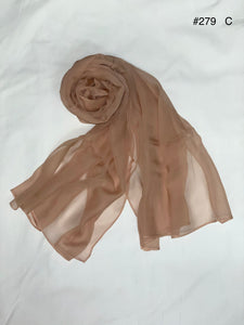 Summer collection - silk crinkle scarf