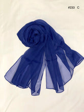 Load image into Gallery viewer, Summer collection - silk crinkle scarf
