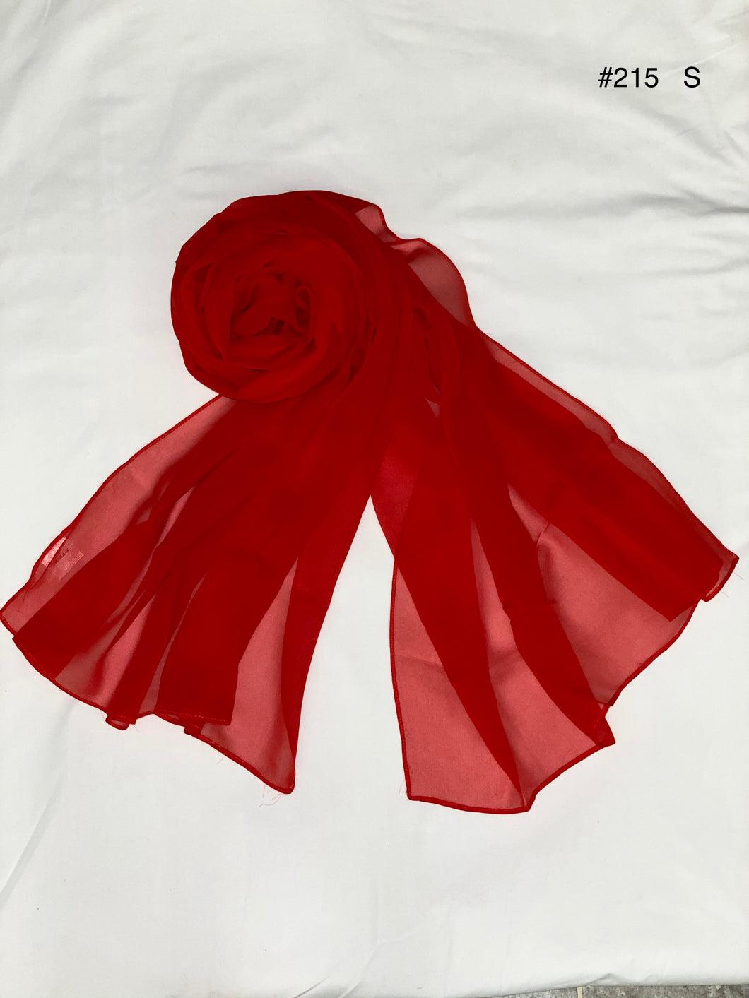 Summer collection - silk chiffon scarf