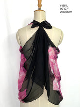 Load image into Gallery viewer, Summer collection - printed super light silk chiffon scarf