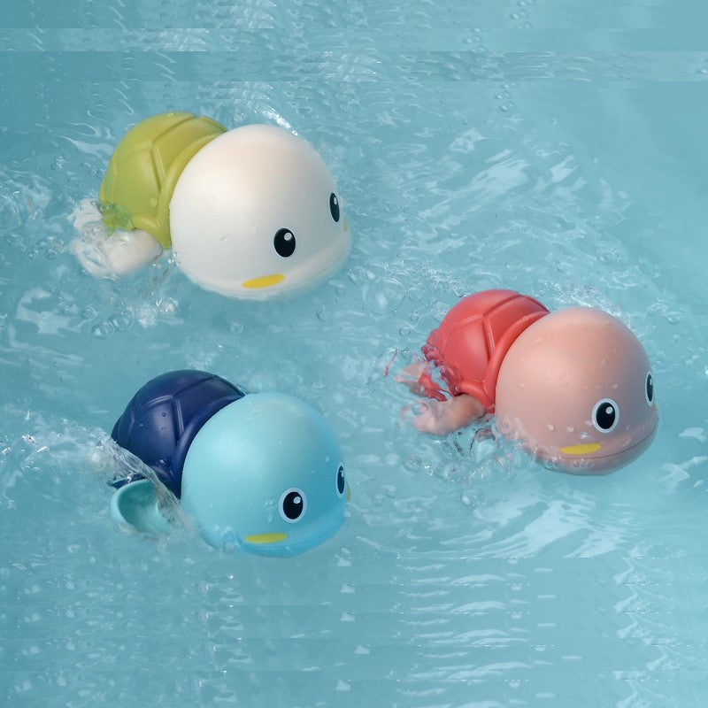 Baby Bath Toys - 3 Pcs Swimming Turtle - BigBoomidea