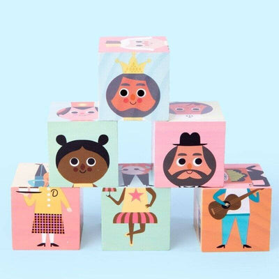 Characters Matching Puzzle Wooden Toys - BigBoomidea