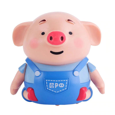 Mini Pig Robot Inductive Radio Vehicle Pen - BigBoomidea